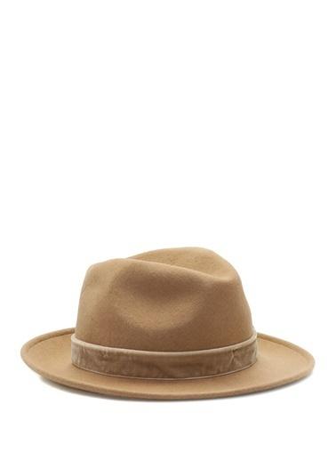 Ferruccio Vecchi Şapka Taba